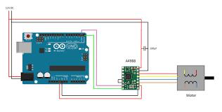arduino stepper motor control using pololu driver the diy life