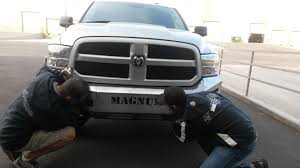 2014 dodge ram 1500 bumper with an ici engineer innovative creations inc