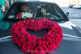 indian wedding car decoration see lovely car decoration ideas tips and more here www