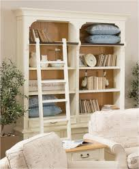 white leaning bookcase kids doherty house fashionable white
