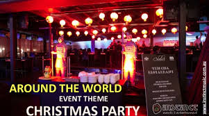 christmas party corporate event theme ideas in melbourne sydney