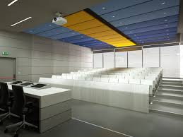 fabric suspended ceiling floating panel acoustic silente