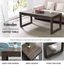 Living Room Without Coffee Table by Tribesigns Modern 47