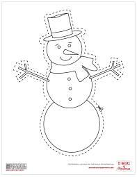 free printables christmas coloring cutouts blog botanical