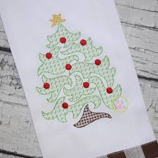 tree motif embroidery