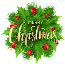 merry christmas pine decoration png clip art image gallery