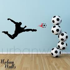 28 soccer wall stickers personalized soccer girl wall decal soccer wall stickers vinyl wall sticker decal art soccer player