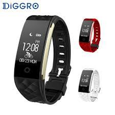monitor bracelet images Diggro s2 smart wristband heart rate monitor ip67 sport fitness jpg