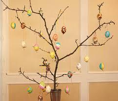 easter egg trees easter branch trees happy easter 2018
