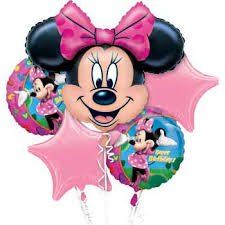 mylar balloon bouquet minnie mouse mylar balloon bouquet each party supplies