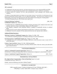 Sample Resume For Manager by Manager Resume Sales And Marketing Manager Cv Sample Resume Format