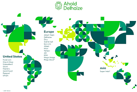 Where Is Italy On The World Map by Where We Operate Ahold Delhaize