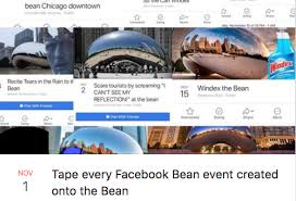 Chicago Memes Facebook - the most hilarious events happening at the bean according to facebook