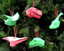 make your own t rex wall trophy from just paper and glue diy