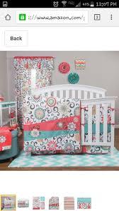 crib bedding girls 20 best coral baby bedding girls crib bedding nursery decor images