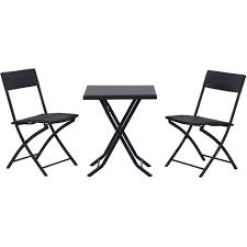chaises pliables ensemble meubles de jardin design table carré et chaises pliables