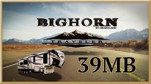 heartland bighorn traveler 39mb 5th wheel for sale