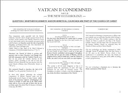 the vatican ii church is not catholic catholics in ireland