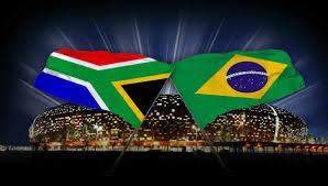 The Flag Of Brazil South Africa Vs Brazil Stadium Management Sa