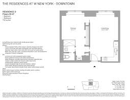 w new york downtown the residences
