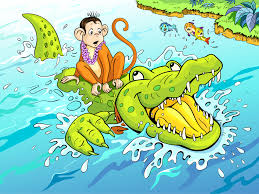 the monkey and the crocodile yoga for modern age