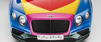pink bentley peter blake paints bentley u0027s latest continental gt v8 s