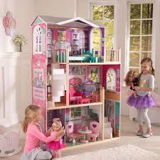 wooden dollhouses kidkraft