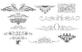 34 beautiful free vector ornament patterns ornament patterns and free