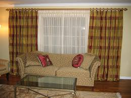 unique window treatments living room traditional with apartment