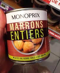 jeu de mot cuisine cette ée avec monoprix je mets le paquet pour mon repas de