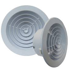 Round Ceiling Vent Covers by Haron International 200mm Round Jet Diffuser Ceiling Vent