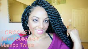 mambo hair twist crochet janet collection havana mambo twist youtube