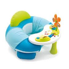 siège gonflable smoby cotoons cosy seat bleu jeux d éveil