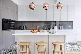 Vintage Kitchen Decor by A Modern Kitchen Decor With Copper Lamps And Nordic Details