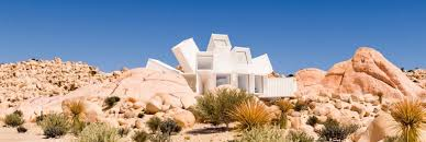 starburst shipping container home to rise in the california desert