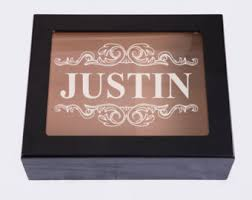 personalized jewelry gift boxes engraved wood box etsy