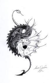dragon ying yang by ghostshark94 on deviantart