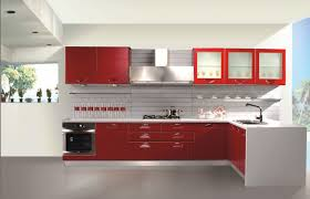 modern contemporary kitchen cabinets kitchen delightful red kitchen cabinet painted also ceramic