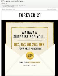 forever 21 black friday sale 14 best email sale mystery coupon images on pinterest email