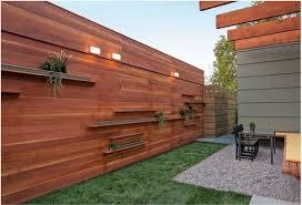 Backyard Fence Ideas Amazing Wood Fence Ideas For Backyard Wooden Backyard Fence Ideas