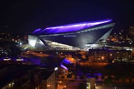 Sofa King Video by Us Bank Stadium Illuminated Last Night Nfl