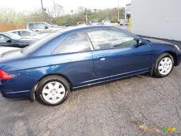 honda civic ex 2001 2001 eternal blue pearl honda civic ex coupe 28196792 gtcarlot