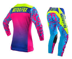 womens dirt bike boots canada custom dirt bike jersey and bell 9 motocross helmet equipped