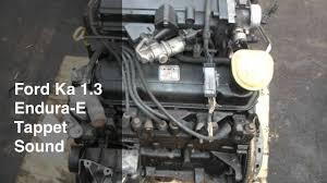 ford ka 1 3 endura engine tappet sound youtube