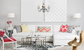 Modern Slipcovered Sofa by Slipcovered Sofa In Living Room Contemporary With Plywood Wall