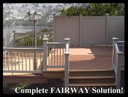fairway composite railings stairs railings vinyl railings