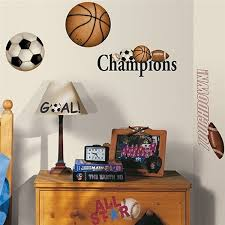 Sports Decals For Kids Rooms by 291 Best For My Sons Bedroom Images On Pinterest Basketball