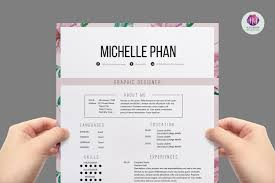creative resume formats modern resume formats best of floral 1 page resume template resume