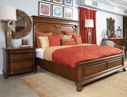Bedroom Furniture Cherry Wood by Furniture Interactive Bedroom Decoration Using Dark Brown Rattan