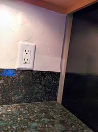 How To Install A Tile Backsplash In Kitchen Kitchens What Is The Easiest Way To Replace An Existing